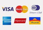 Aceitamos pagamento cartão de crédito